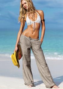 Victoria's Secret - Beach Linen Pant